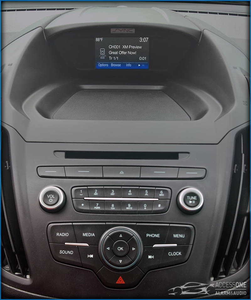 Ford Escape SiriusXM Install