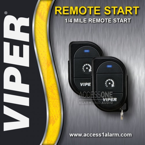 Chrysler 200 Viper 1-Button Remote Start System