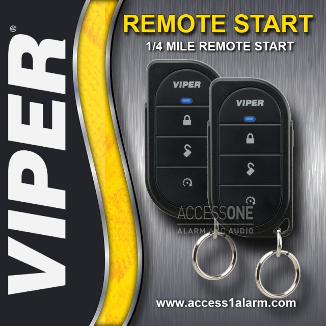 Chrysler Town & Country Basic Viper Remote Start System