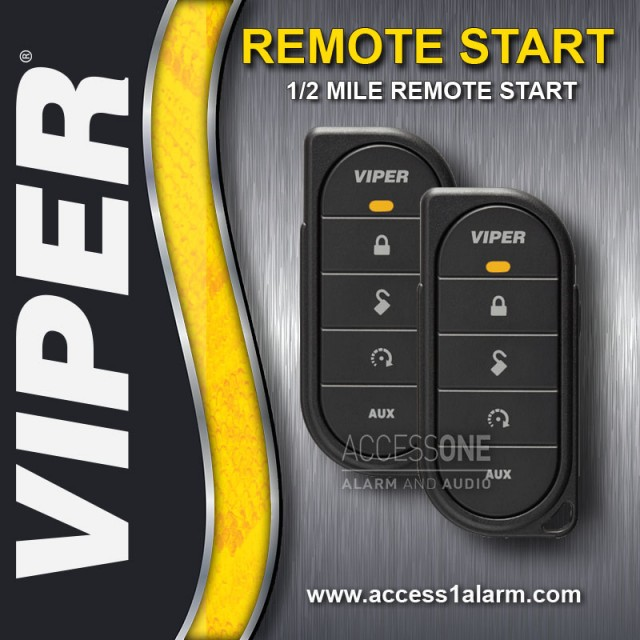 Chrysler Town & Country Viper 1/2-Mile Remote Start System