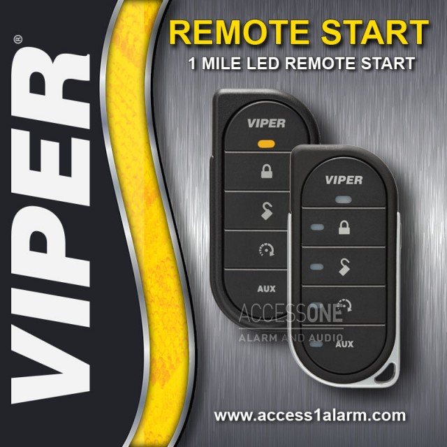 2014+ Dodge Durango Viper 1-Mile LED Remote Start System