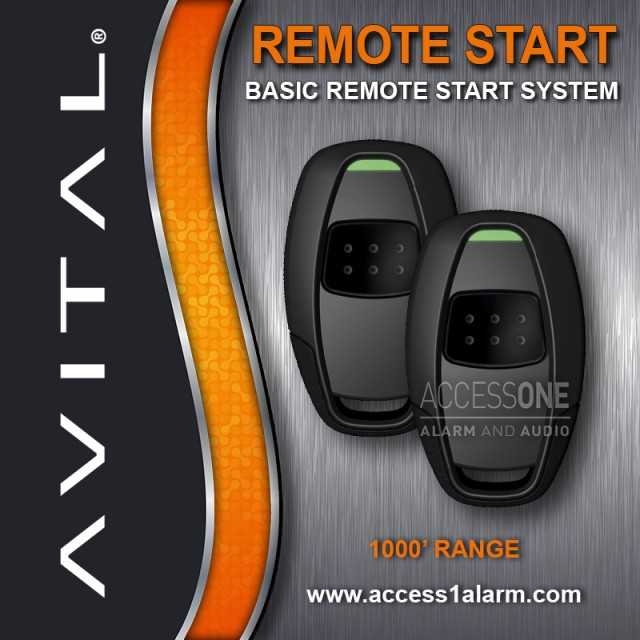 Chrysler Town & Country Basic Avital Remote Start System