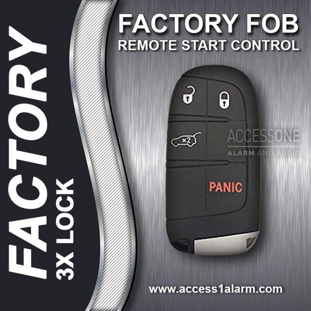 2014+ Dodge Durango Basic Factory Key Fob Remote Start