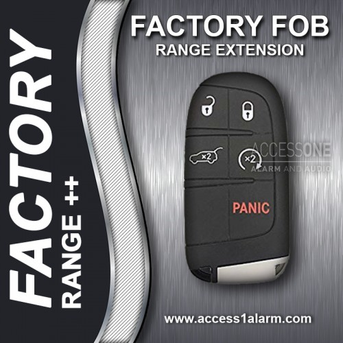 2011+ Dodge Charger Factory Remote Start Range Extension